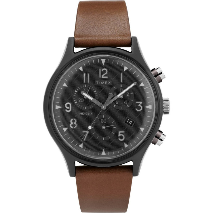 Timex MK1 Chrono Supernova Grey Brown