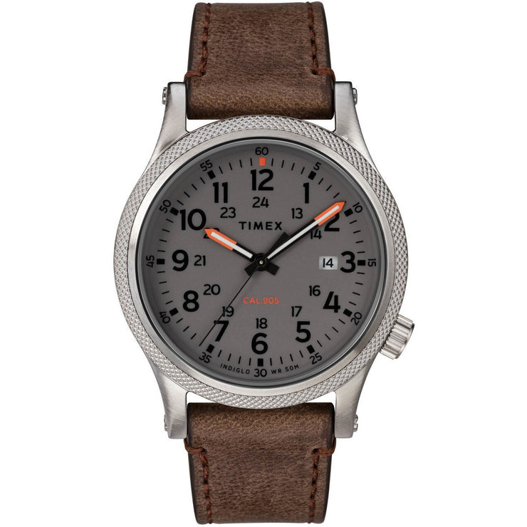 Timex Allied LT Indiglo Brown Grey