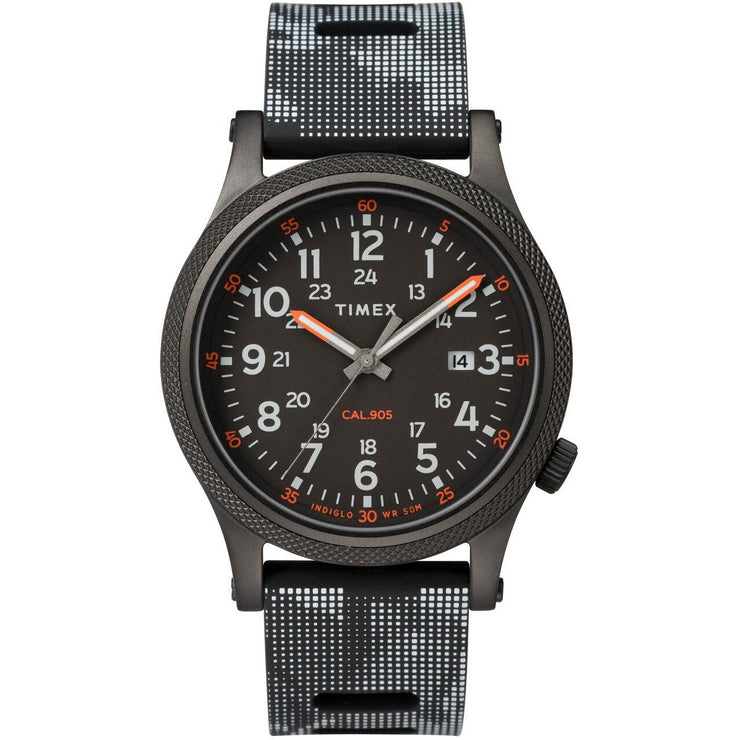 Timex Allied LT Indiglo All Black