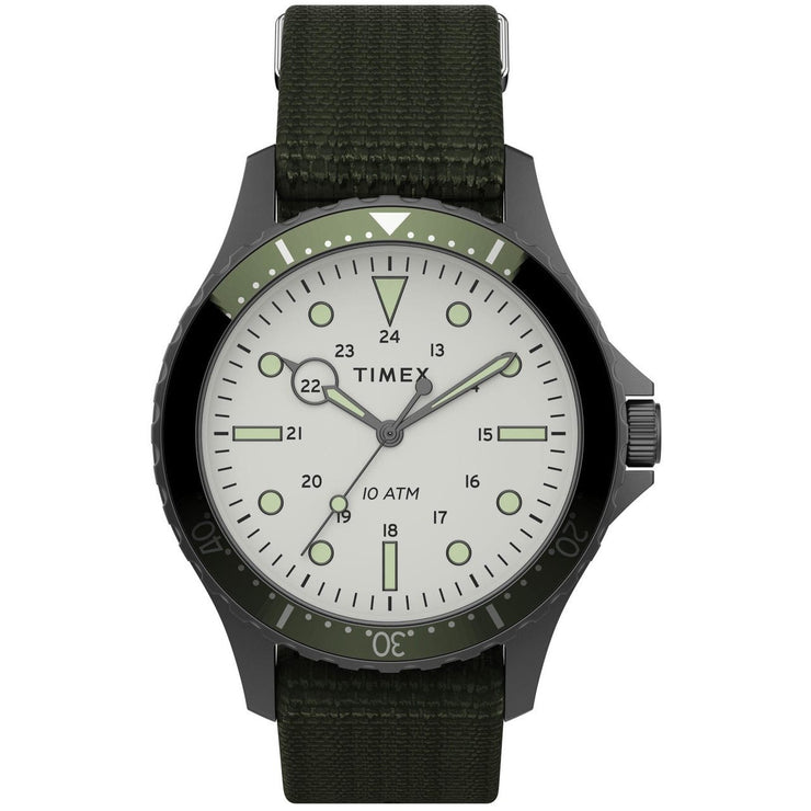 Timex Navi XL 41mm Grey Olive
