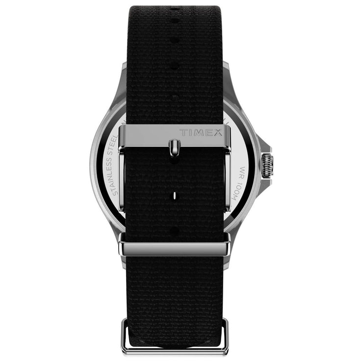 Timex Navi XL Grey Black Nylon