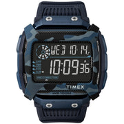 Timex Command Shock Digital Blue Camo