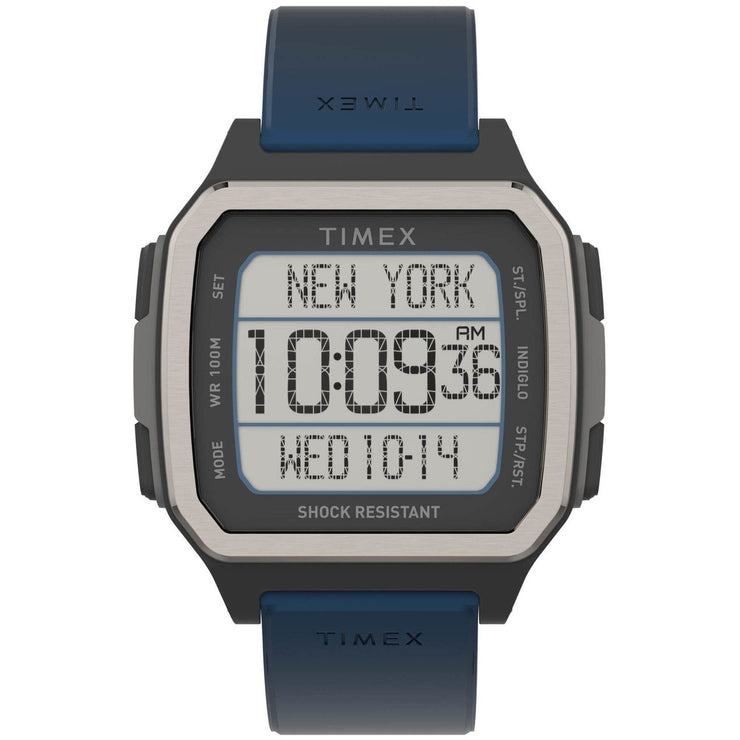 Timex Command Urban 47mm Digital Blue