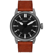 Tsovet SVT-FW44 Swiss Field Watch Gunmetal Brown