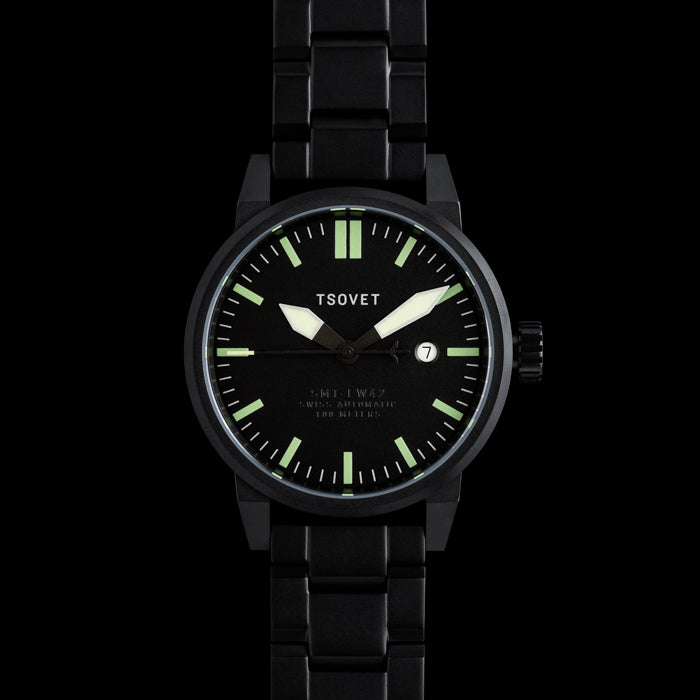 Tsovet SMT-FW42 Swiss Automatic Black