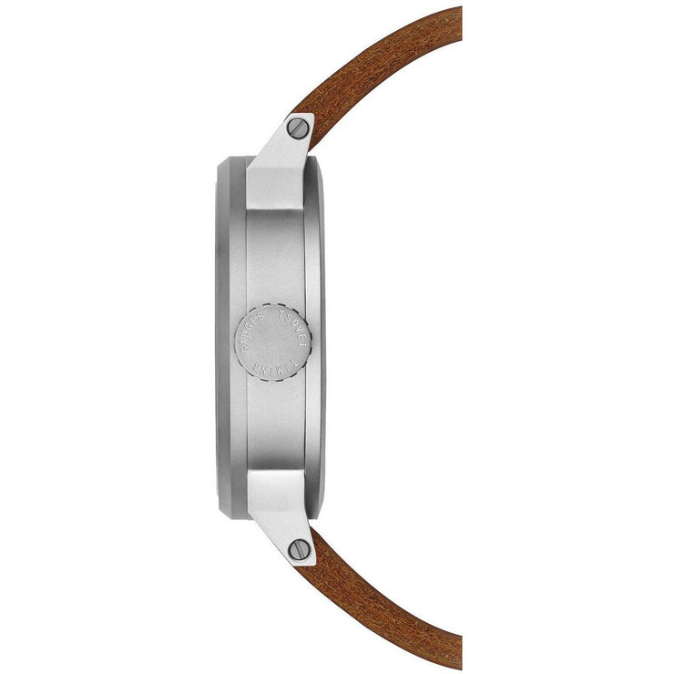 Tsovet SVT-FW44 Swiss Field Watch Brown Silver