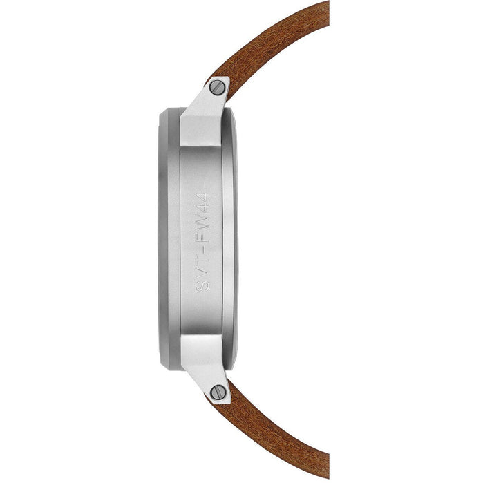 Tsovet SVT-FW44 Swiss Field Watch Brown Silver angled shot picture