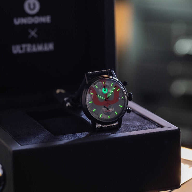 Undone Ultraman Chronograph Limited Edition All Black