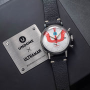 Undone Ultraman Chronograph Limited Edition Silver Black
