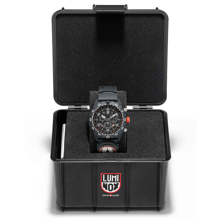 Luminox Swiss 3741 Bear Grylls Compass Black angled shot picture