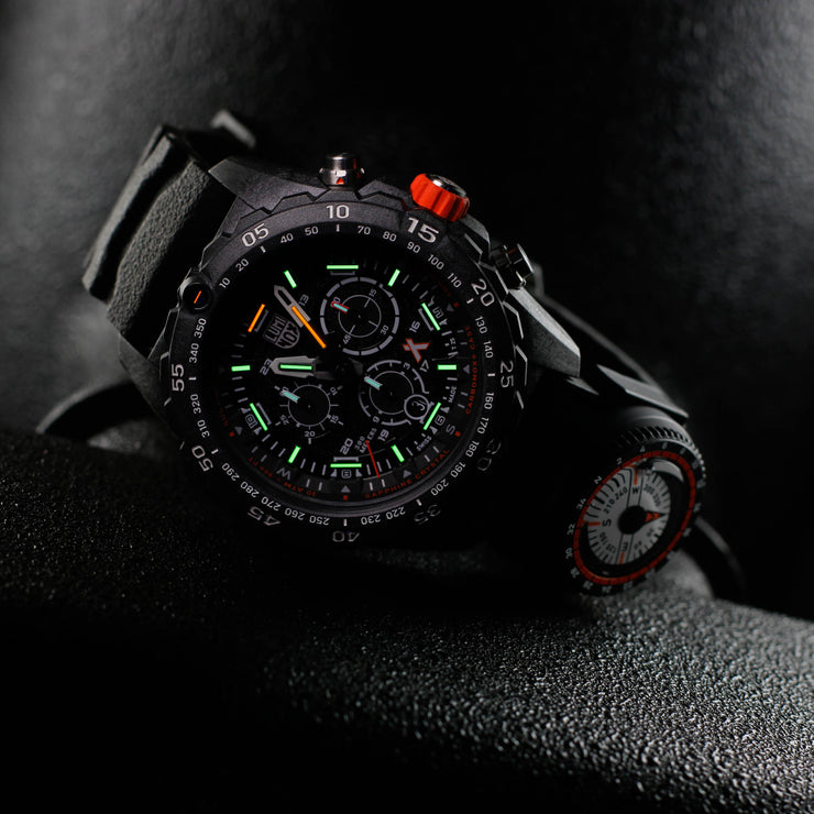 Luminox Swiss 3741 Bear Grylls Compass Black