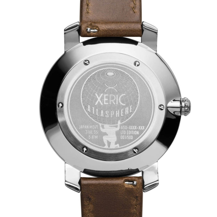 Xeric Atlasphere GMT Gunmetal Limited Edition angled shot picture