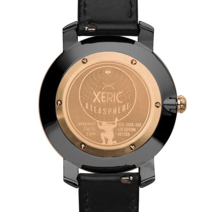 Xeric Atlasphere GMT Rose Gold Limited Edition
