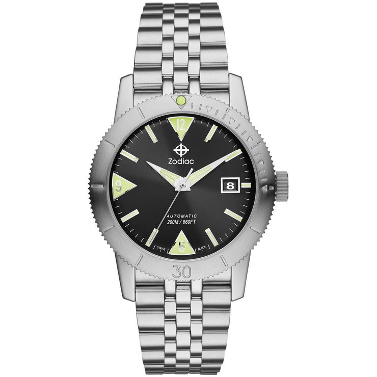 Zodiac ZO9201 Super Sea Wolf 53 Skin Diver Automatic Steel