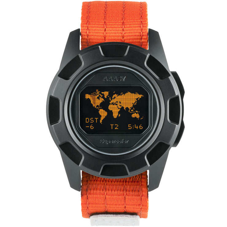 AAASY Supercolor Digital Black Orange