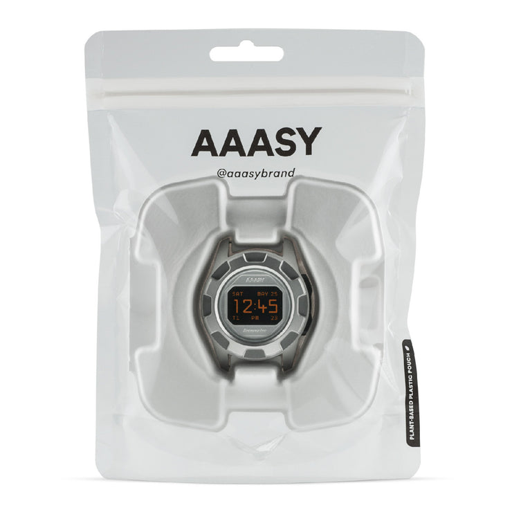 AAASY Supercolor Digital Silver Black
