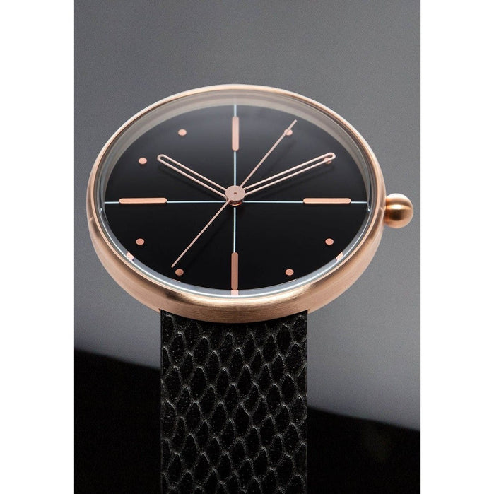 AARK Dome Rose Gold angled shot picture