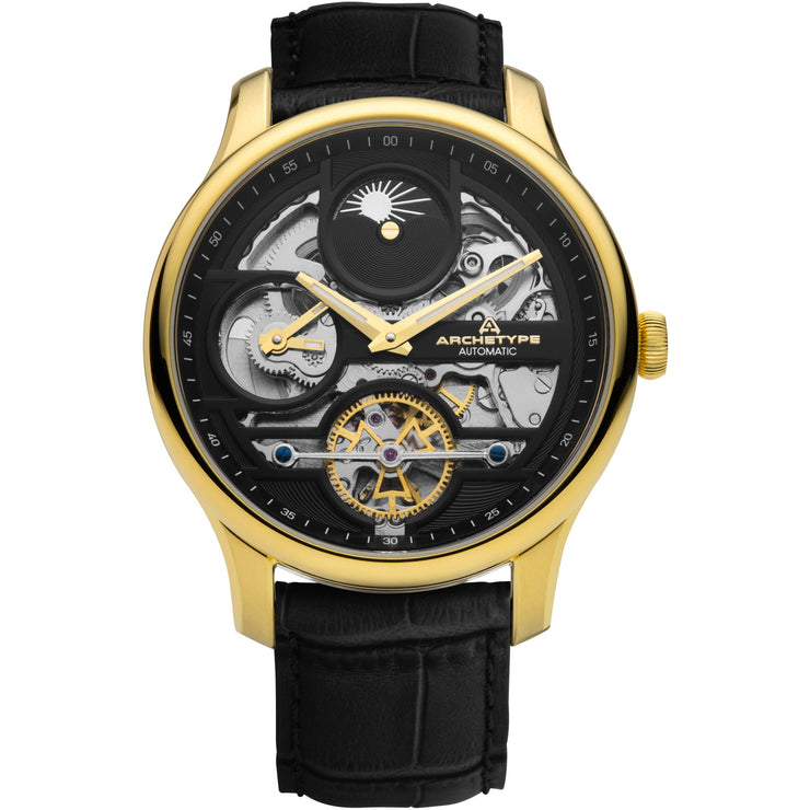 Archetype Archer Automatic Gold Black
