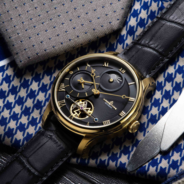 Archetype Dorian Automatic Gold Black