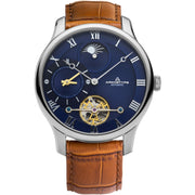Archetype Dorian Automatic Silver Tan Navy
