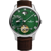 Archetype Dorian Automatic Silver Brown Green