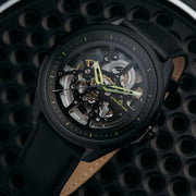 Archetype Nemesis Automatic All Black Lime
