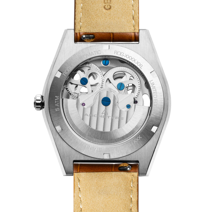 Archetype Rogue Automatic Silver Brown Navy