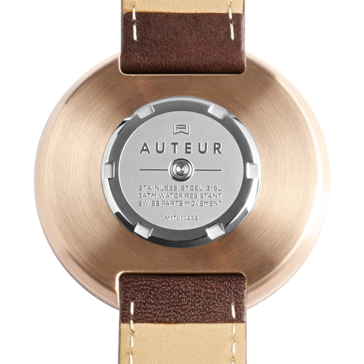 Auteur Revolution IV Rose Gold Walnut