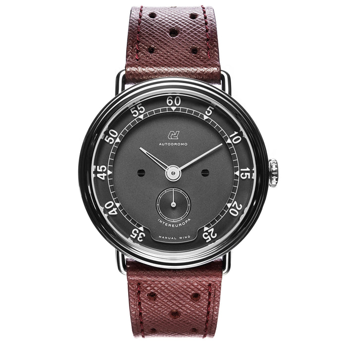 Autodromo Intereuropa Hand Wind Black Brown angled shot picture