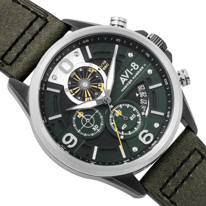 AVI-8 Hawker Harrier II AV-4051-02 Turbine Edition Green angled shot picture