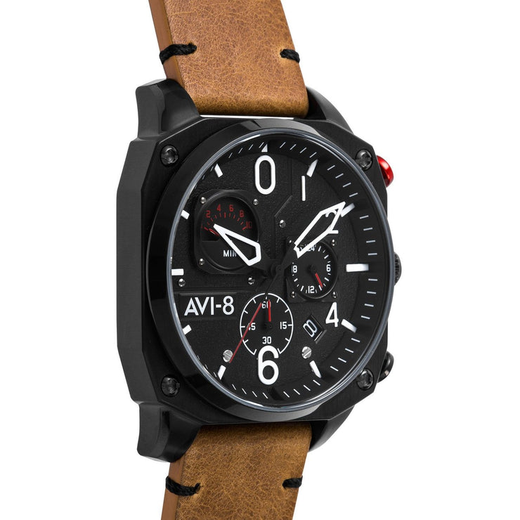 AVI-8 Hawker Hunter AV-4052-02 Chronograph Brown