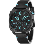 AVI-8 Hawker Hunter AV-4052-05 Chronograph Black Blue