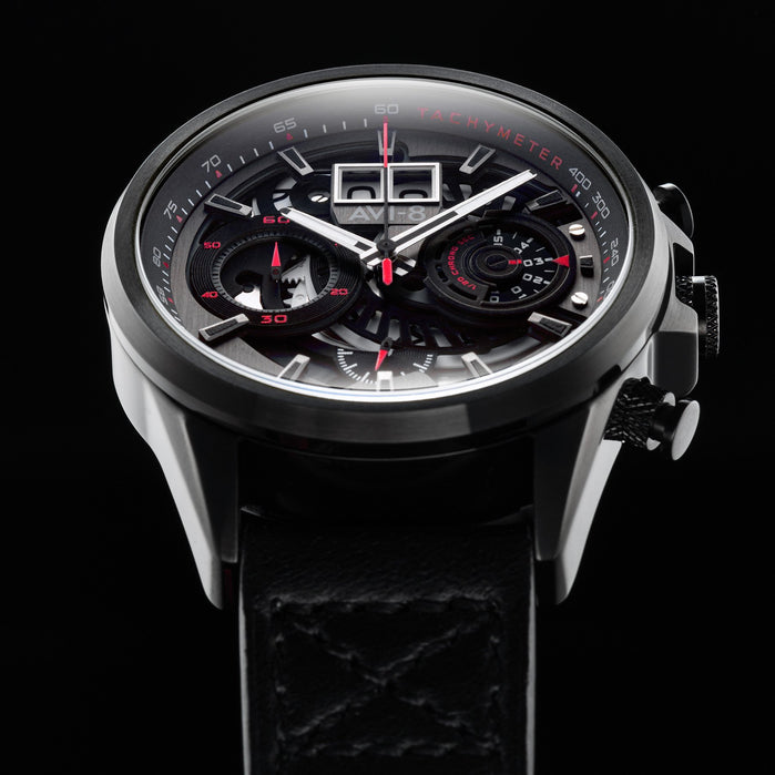 AVI-8 Hawker Harrier II Matador Chronograph Black angled shot picture