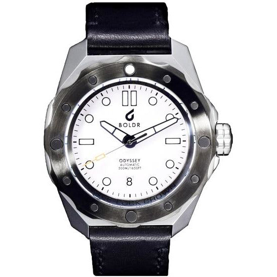 BOLDR Odyssey Automatic White Storm