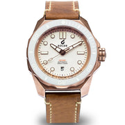 Boldr Odyssey Automatic Bronze White Knight Tan