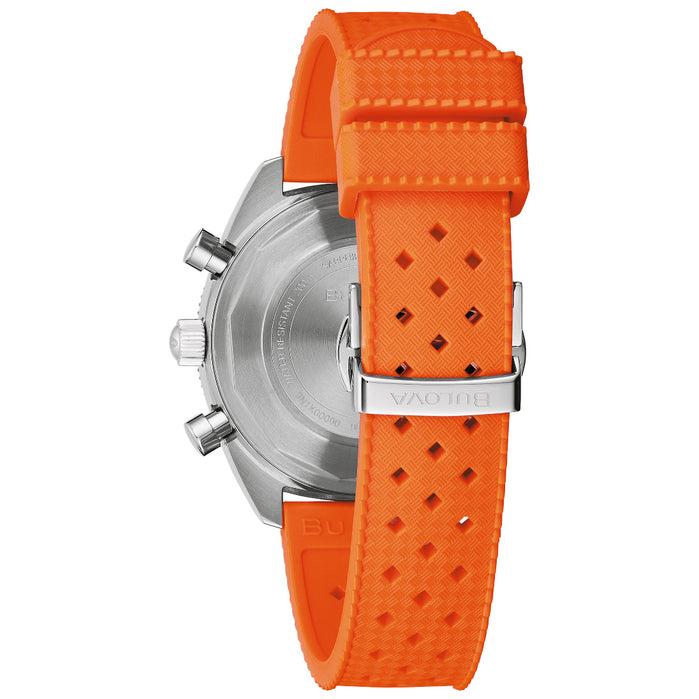 Bulova Chronograph A Surfboard Orange angled shot picture