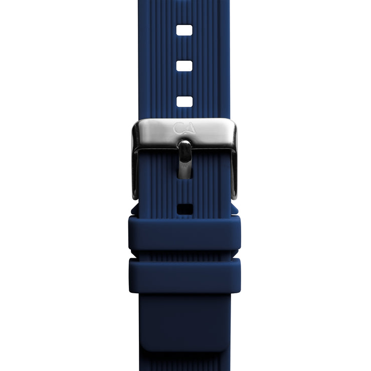 California Watch Co. 20mm Navy Silicone Strap