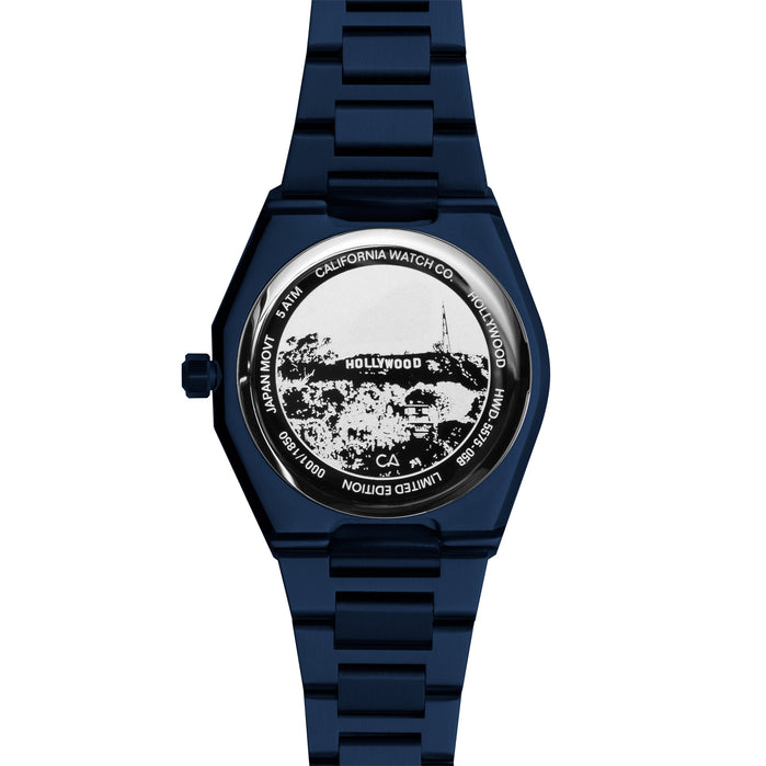 California Watch Co. Hollywood 32 Deep Blue angled shot picture