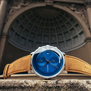 California Watch Co. Golden Gate Chrono Leather Sand Navy