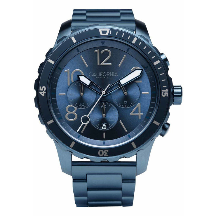 California Watch Co. Mavericks Chrono SS Deep Blue