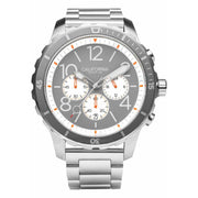 California Watch Co. Mavericks Chrono SS Gray White