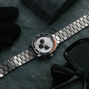 California Watch Co. Mavericks Chrono SS Silver Orange