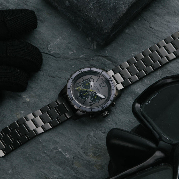 California Watch Co. Mavericks Chrono SS All Gunmetal