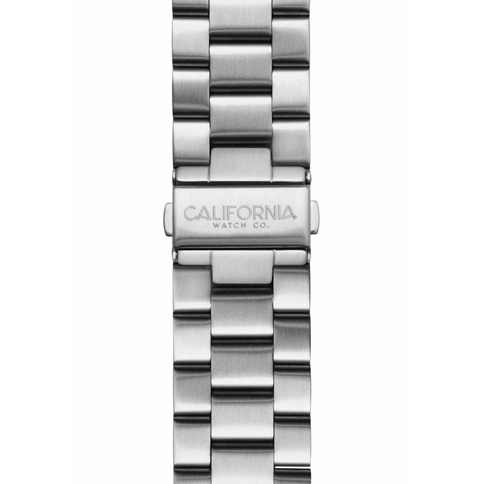 California Watch Co. 22mm Silver Mavericks Bracelet angled shot picture