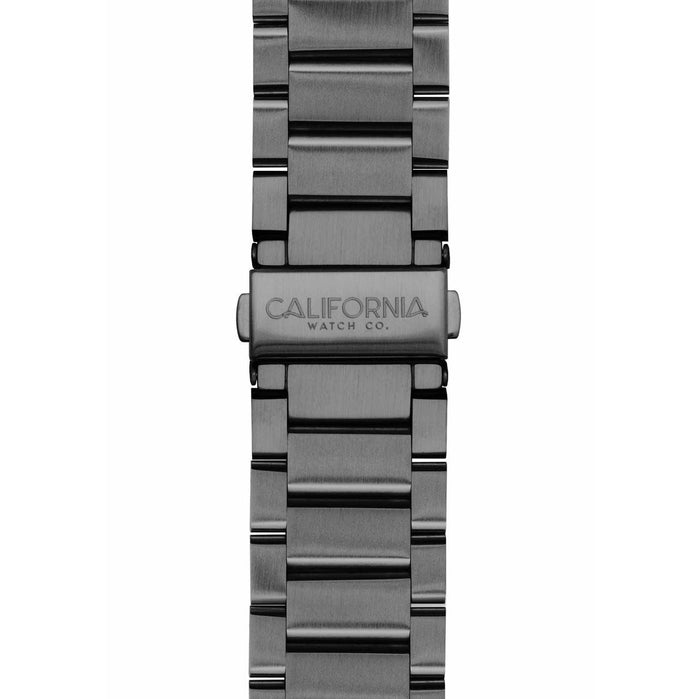 California Watch Co. 22mm Gunmetal Mojave Bracelet angled shot picture