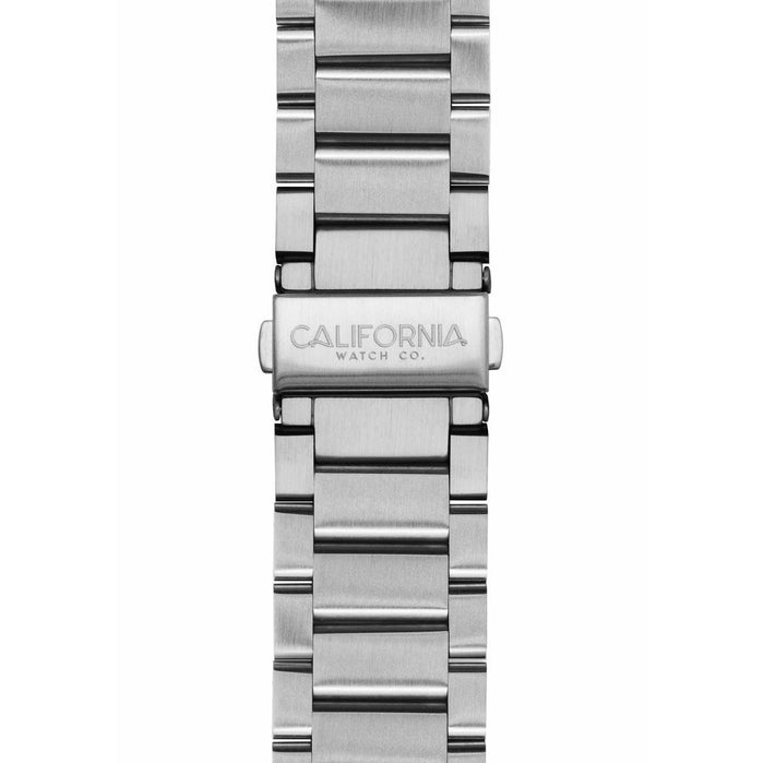 California Watch Co. 22mm Silver Mojave Bracelet angled shot picture