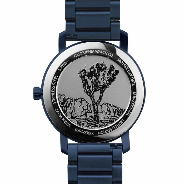 California Watch Co. Mojave SS Deep Blue angled shot picture