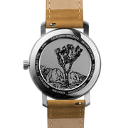 California Watch Co. Mojave Leather Sand White