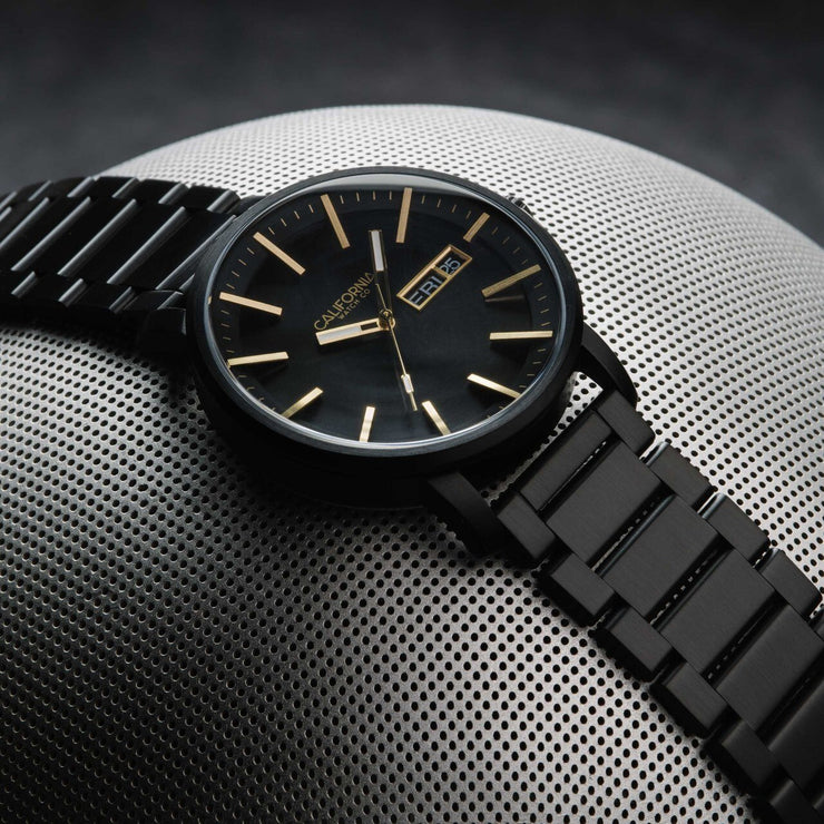 California Watch Co. Mojave SS All Black Gold