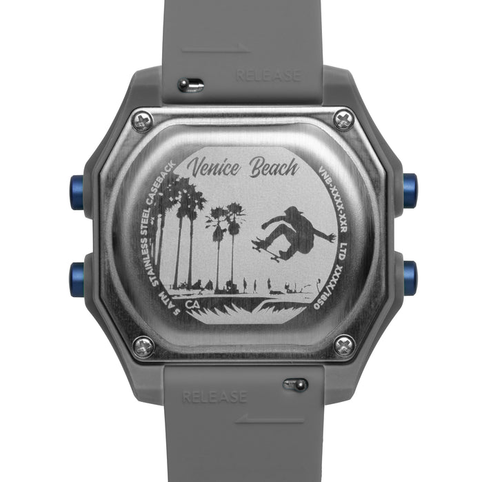 California Watch Co. Venice Beach Digital Gray angled shot picture